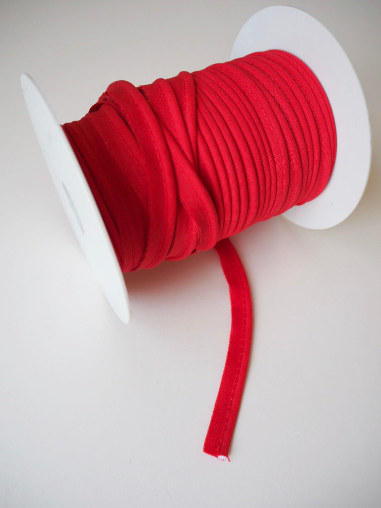 Red Cotton Bias Piping