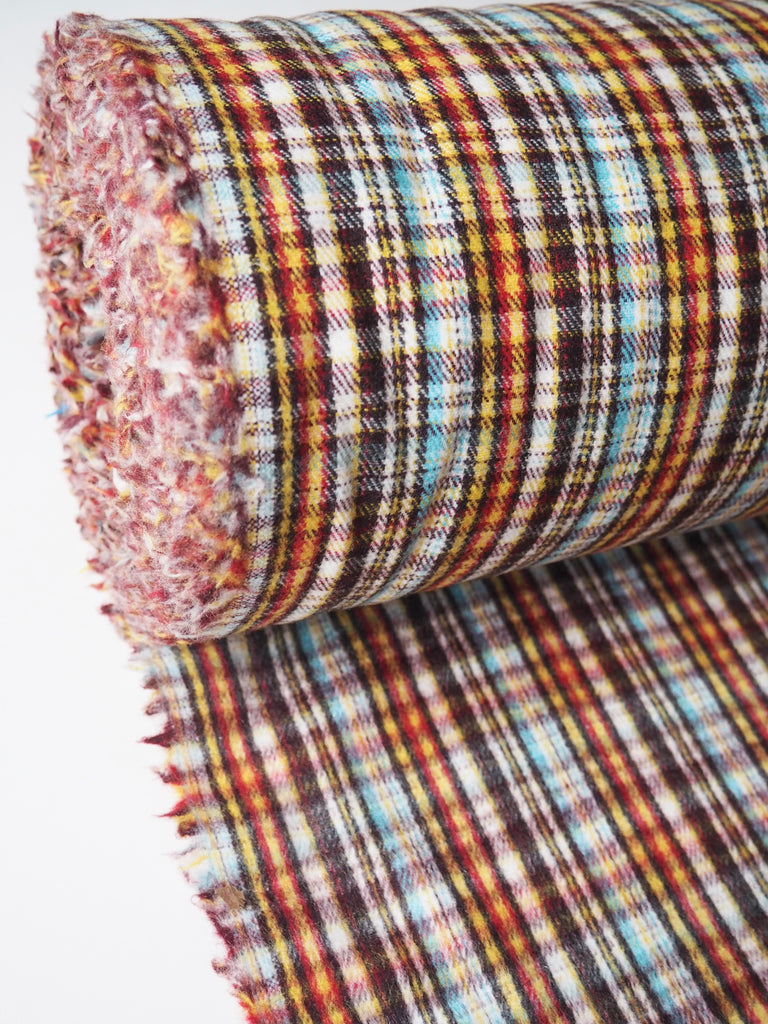 Rupert Bear Brushed Wool Check