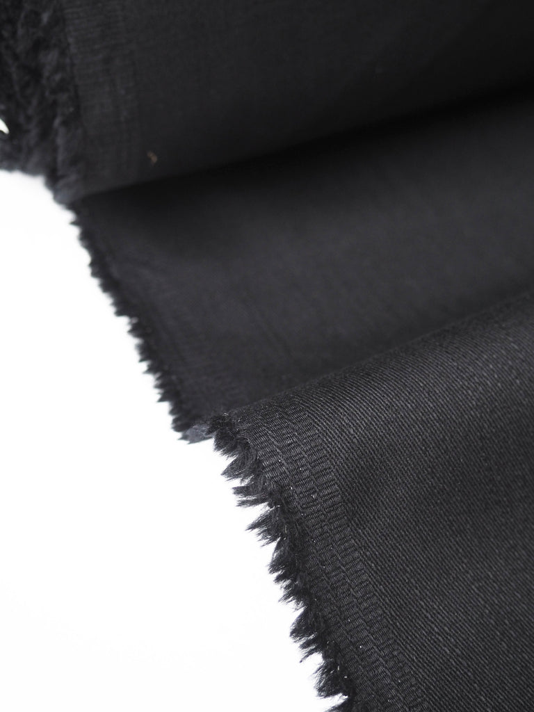 Black Cotton Twill