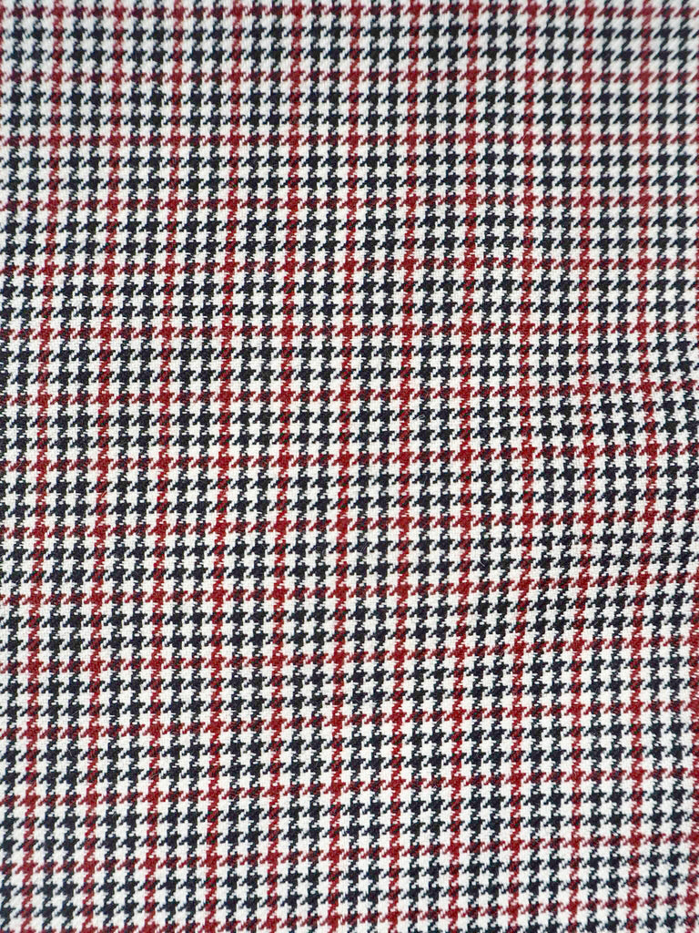 Houndstooth Wool and Mohair