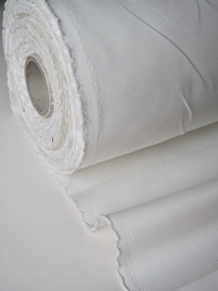 White Cotton Twill