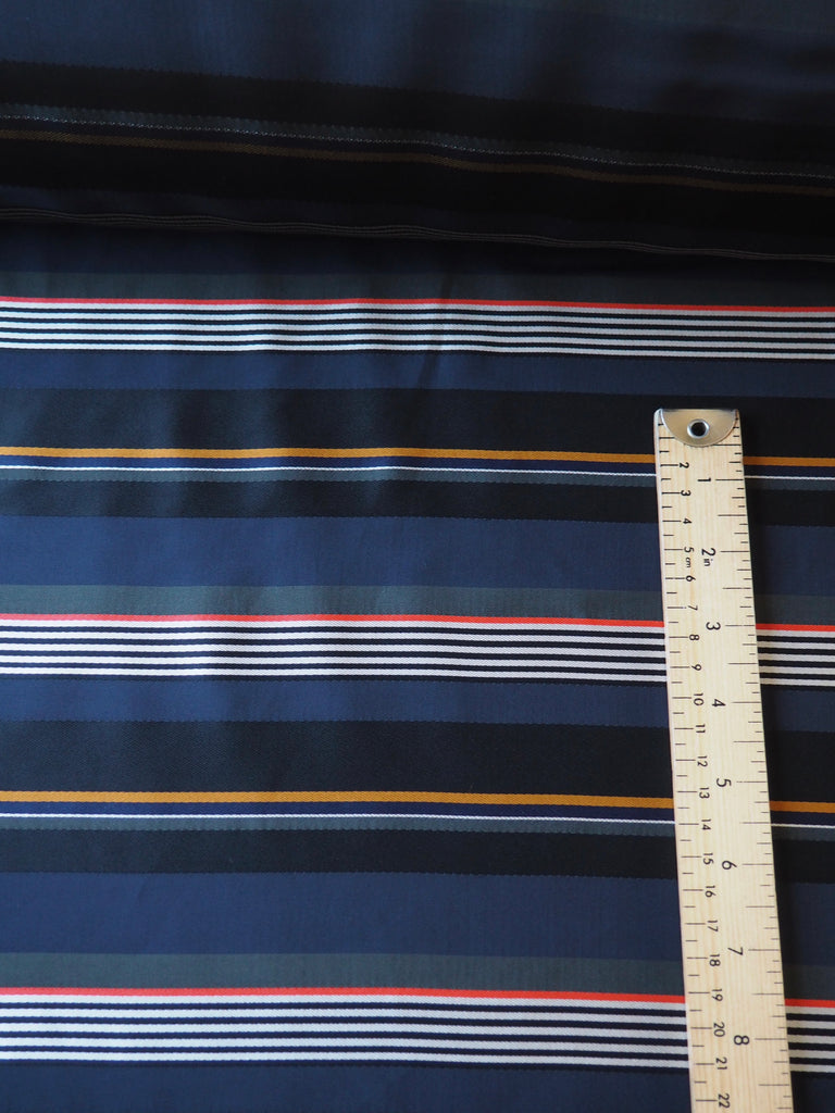 Regatta Stripe Viscose Satin