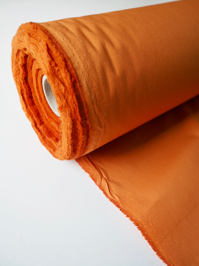 Orange Gabardine Cotton