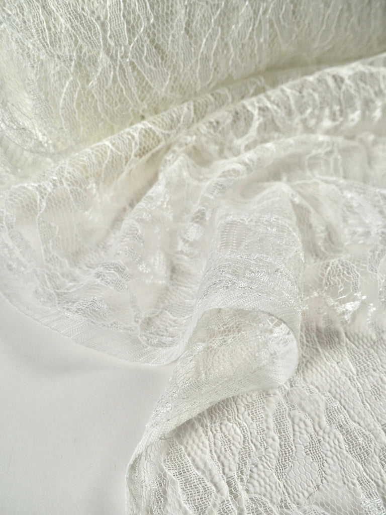 Levana White Lace