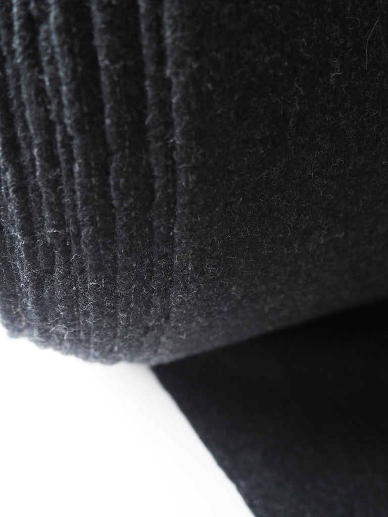 Hamburg Italian Grey Marl Wool Coating