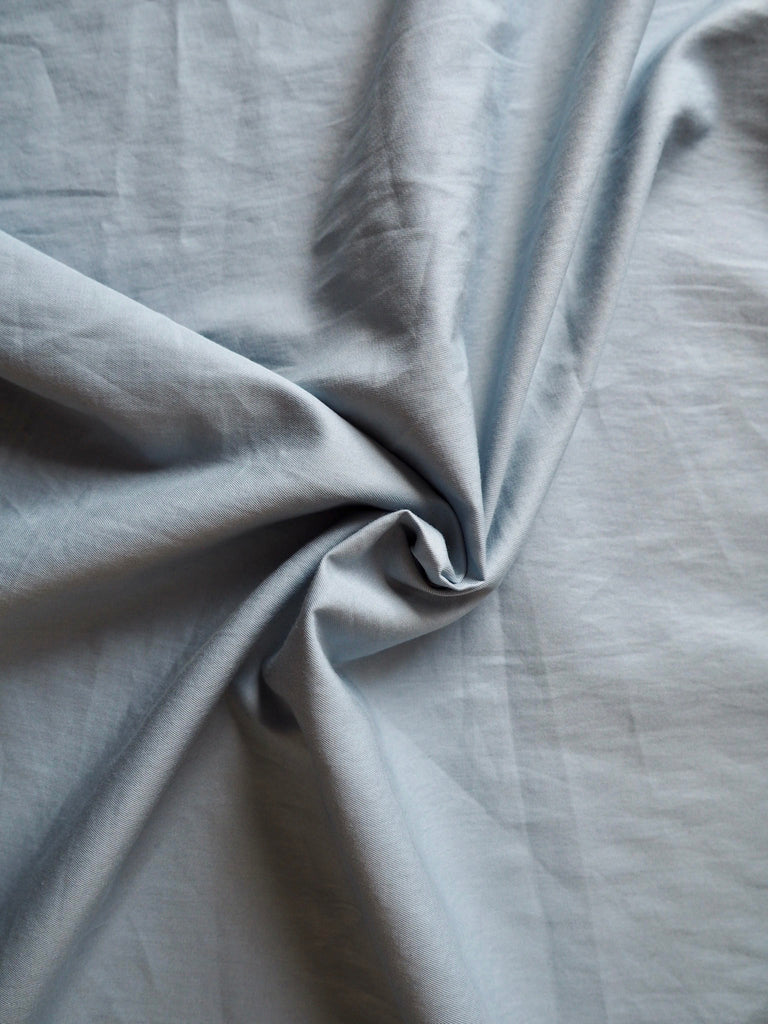 Blue Cotton Twill