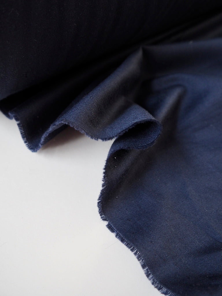 Blue Lightweight Cotton Twill