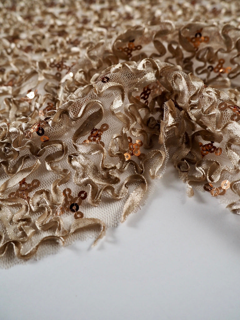 Ceres Bronze Ribbon Lace