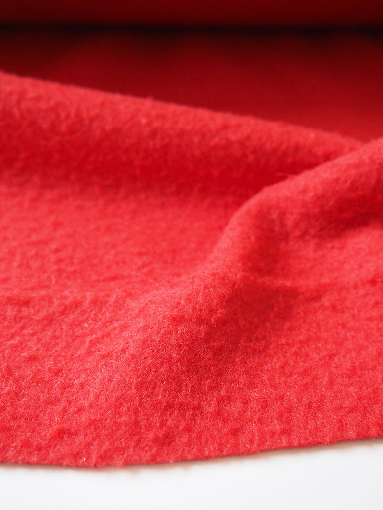 Casentino Red Wool Coating