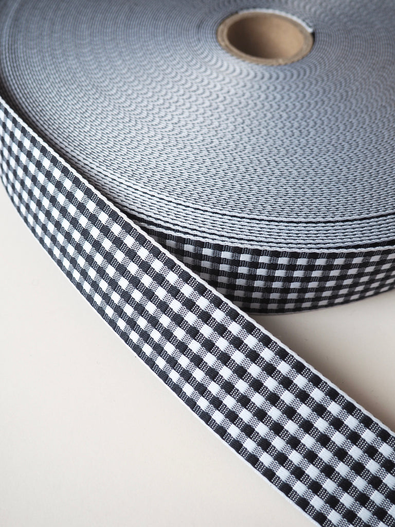 Gingham Webbing 40mm