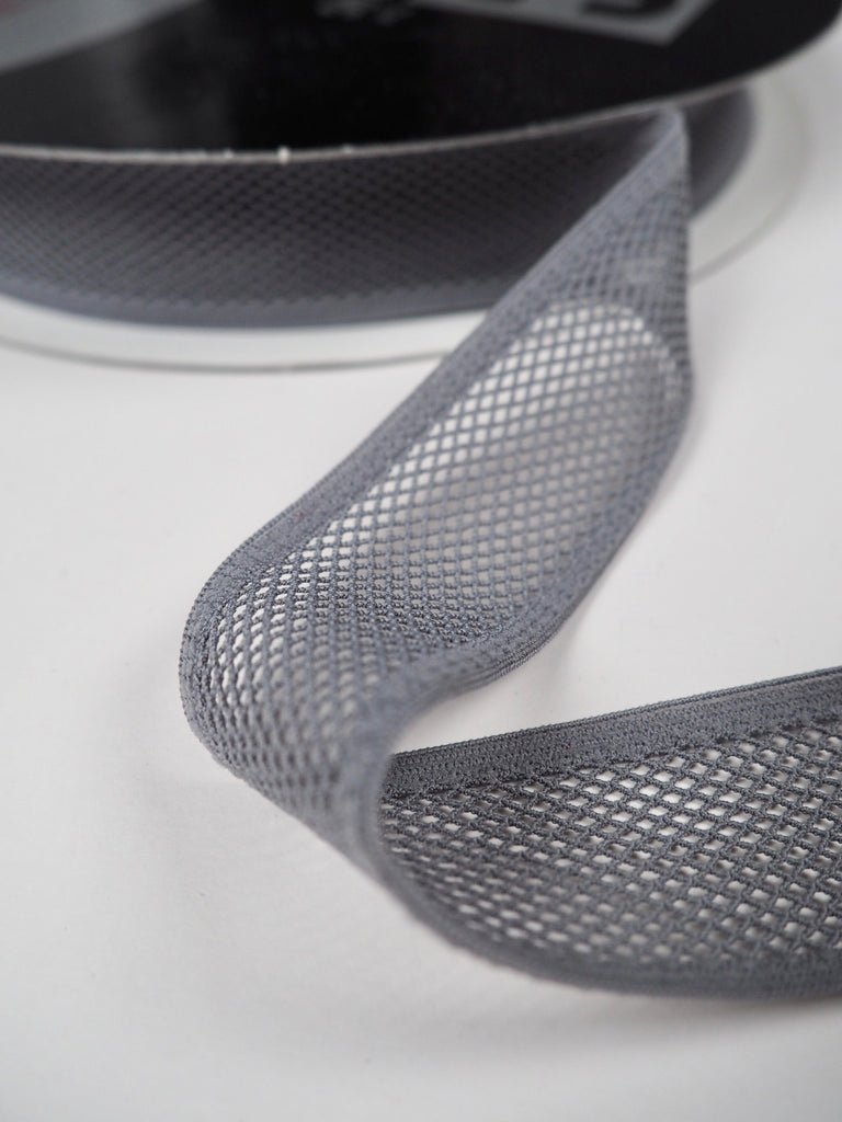 Grey Mesh Binder Shindo Elastic 30mm