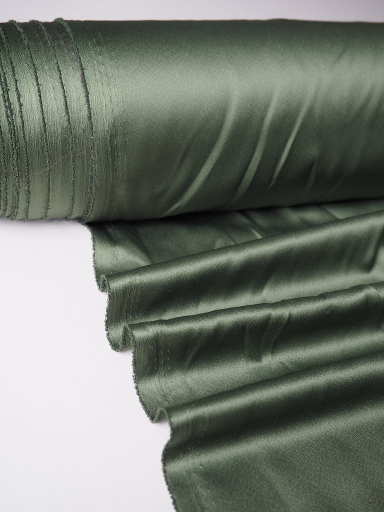 Fern Green Lightweight Satin
