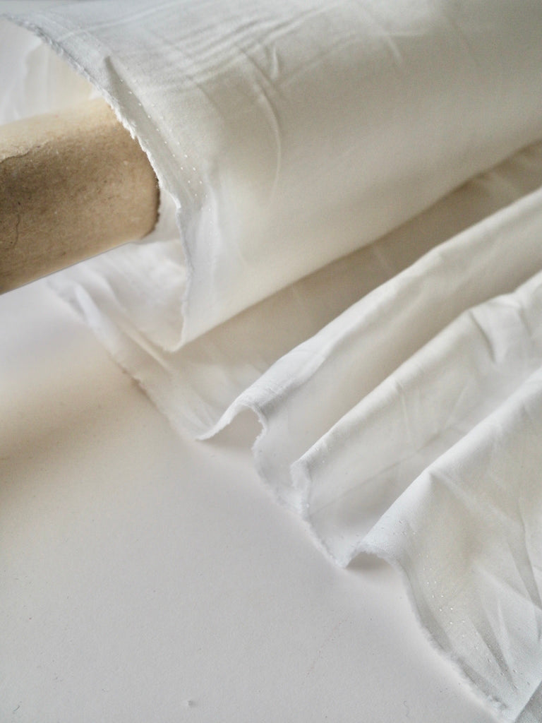 White Cotton Lining