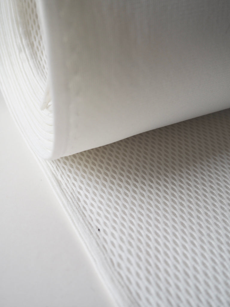 White Large Spacer Mesh