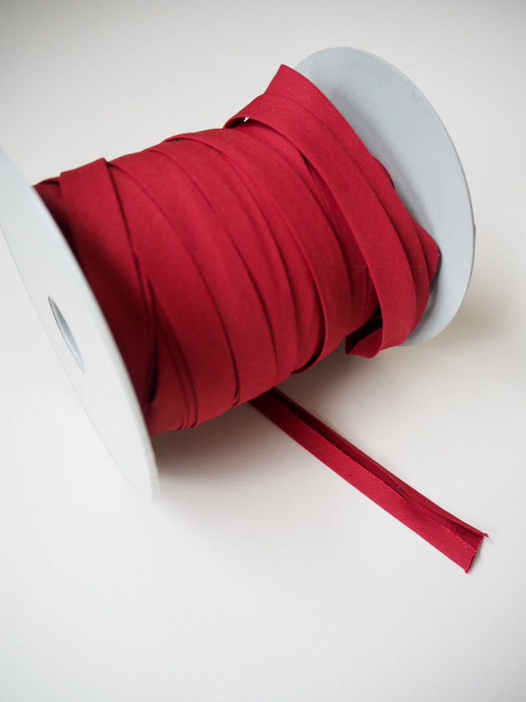 Wine Red Polycotton Bias Binding 12mm