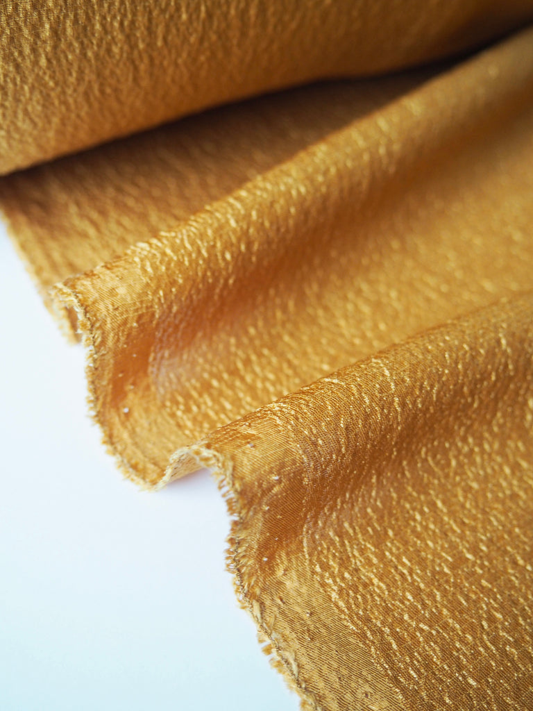 Topaz Hammered Satin Viscose