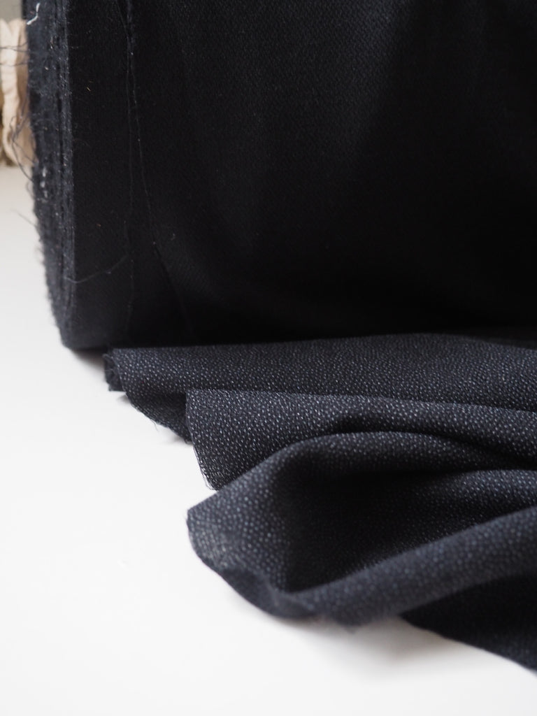 Medium Weight Black Iron-on Interfacing