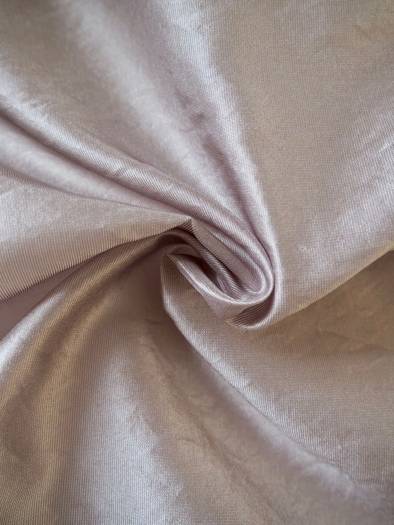 Silver Heather Organza