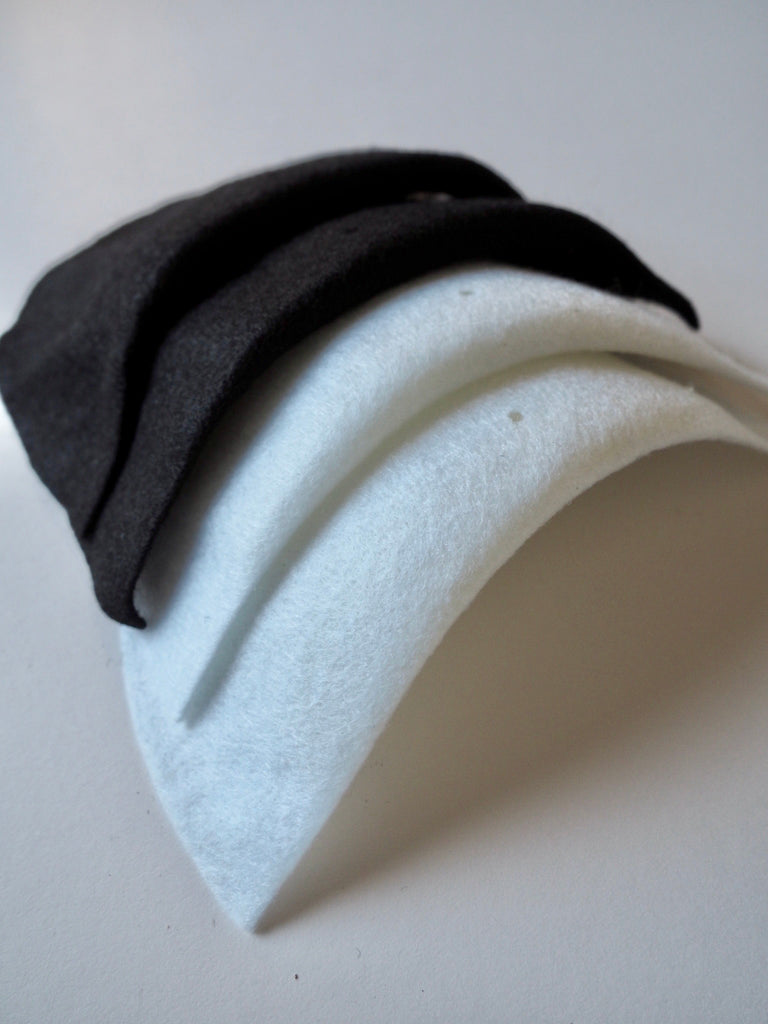 Small Felt Shoulder Pads