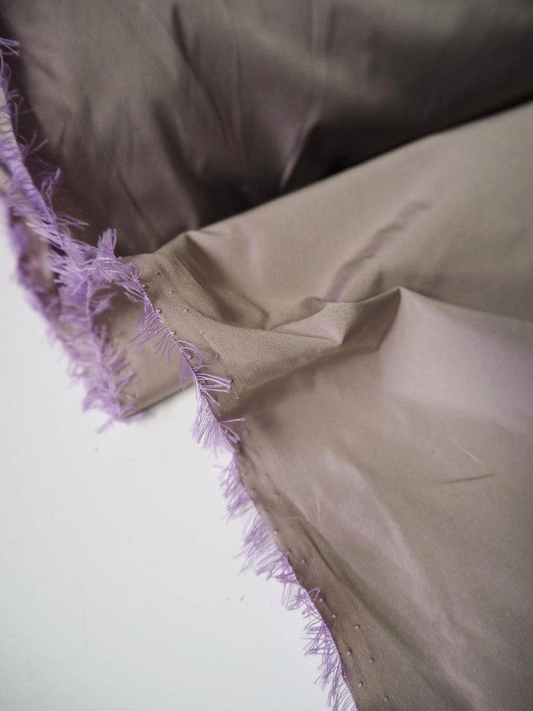 Dusty Purple Taffeta