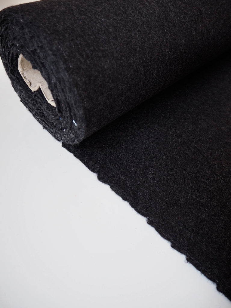 Dark Grey Felted Wool (Ex-Designer)