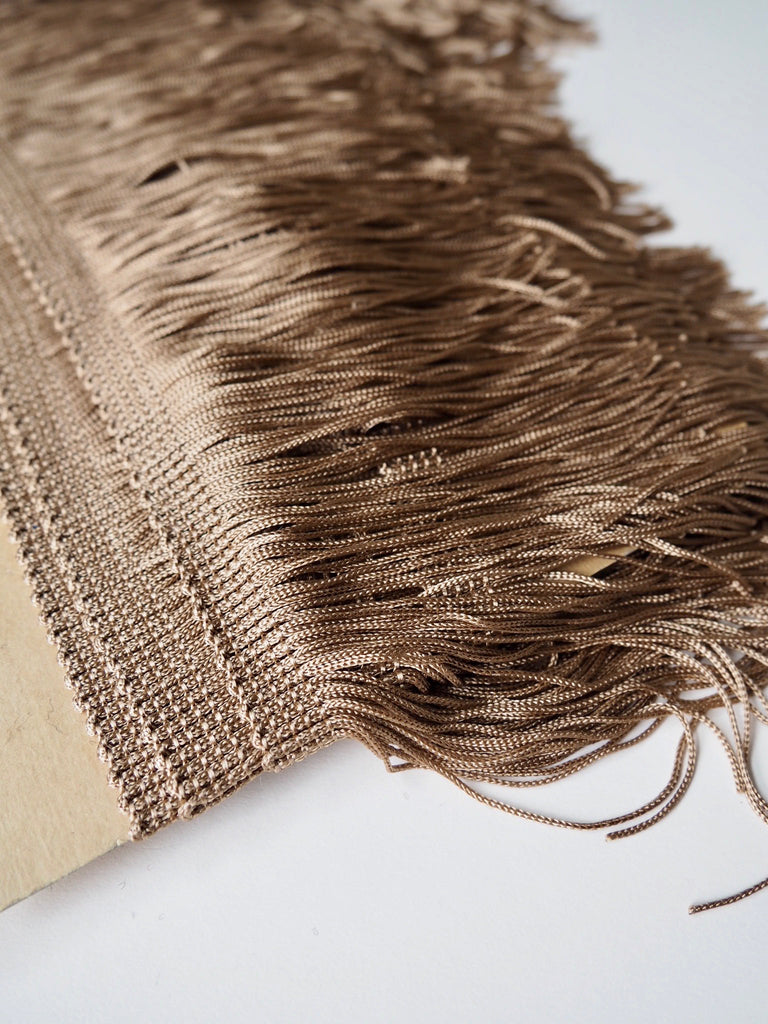 Gold Fringing Tassel Trim
