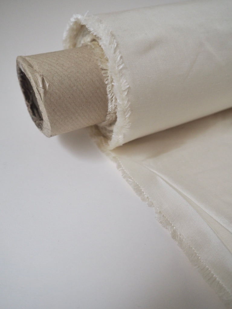 Ivory Raw Silk Dupion