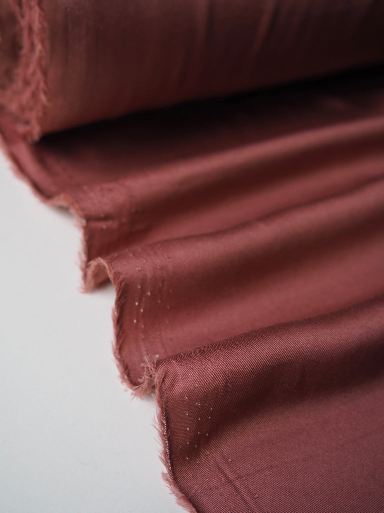 Rosewood Satin Twill Lining