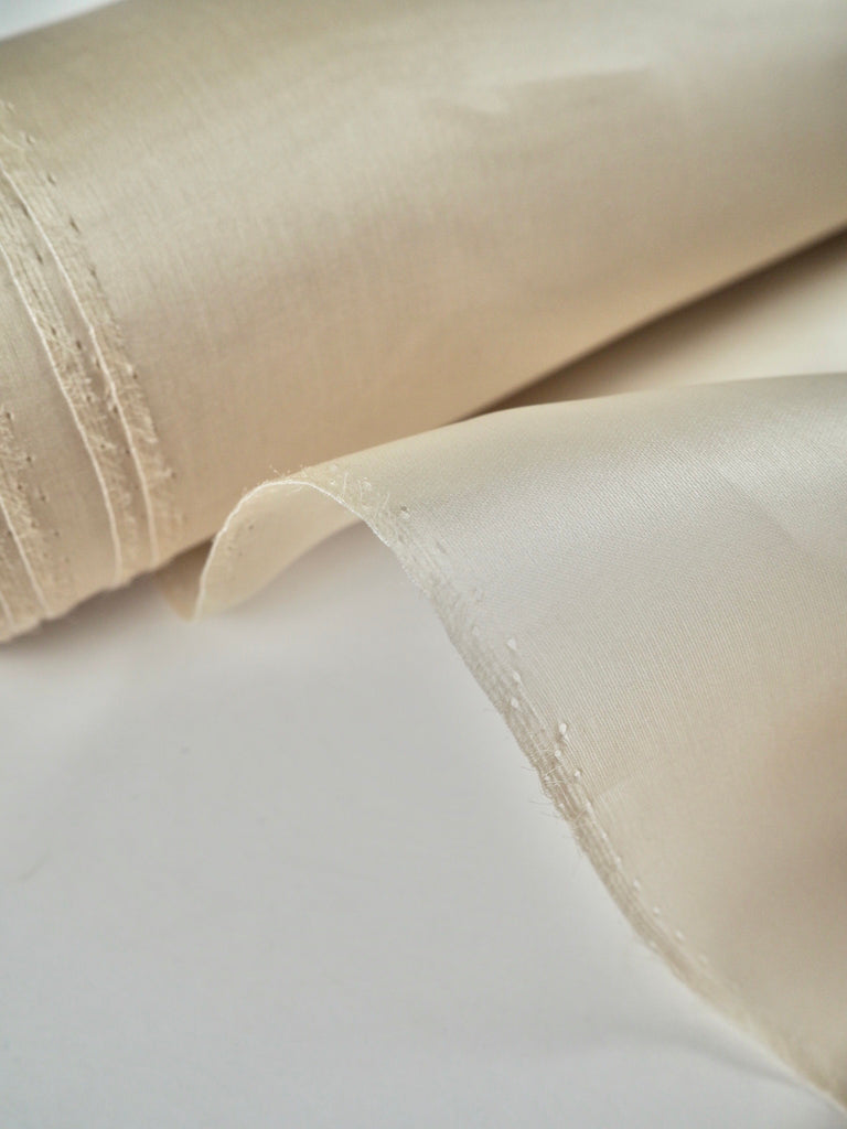 Bone Silk Organza