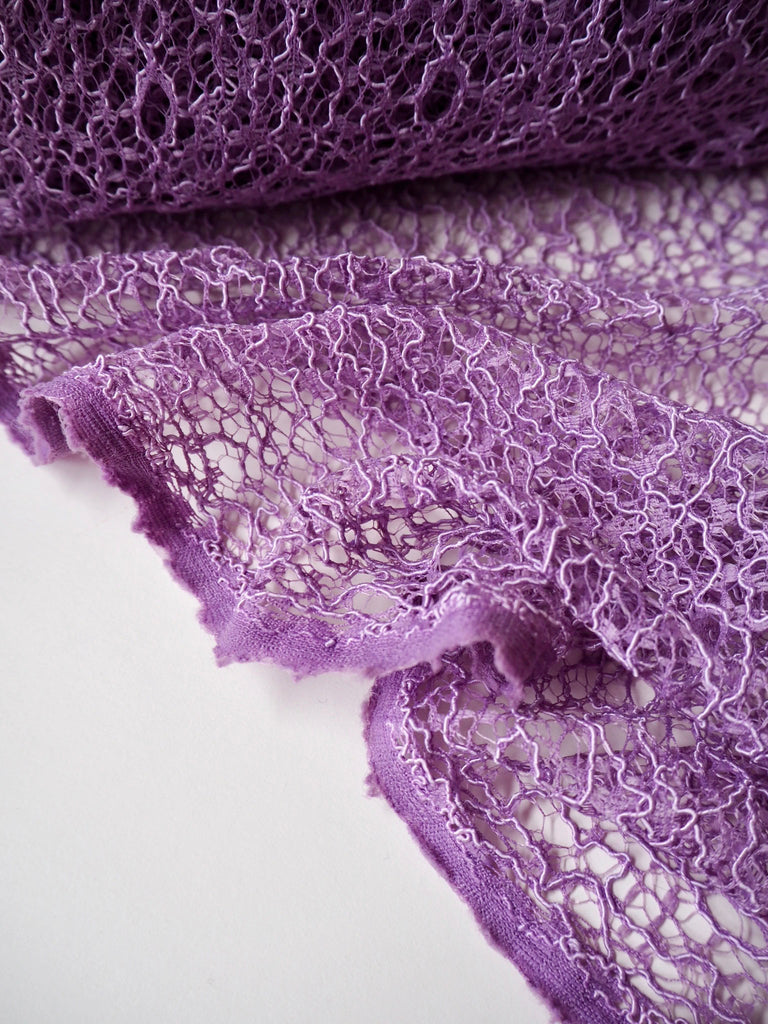 Lilac Corded Web Lace