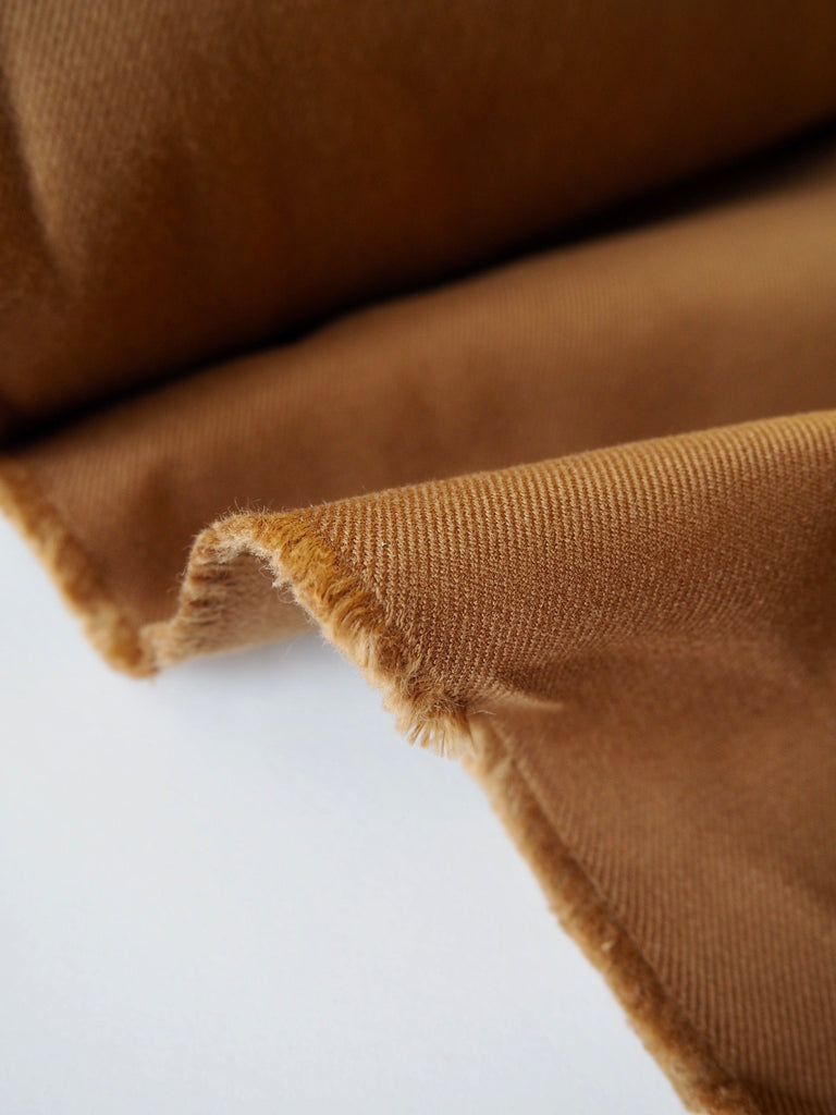 Brown Stretch Twill