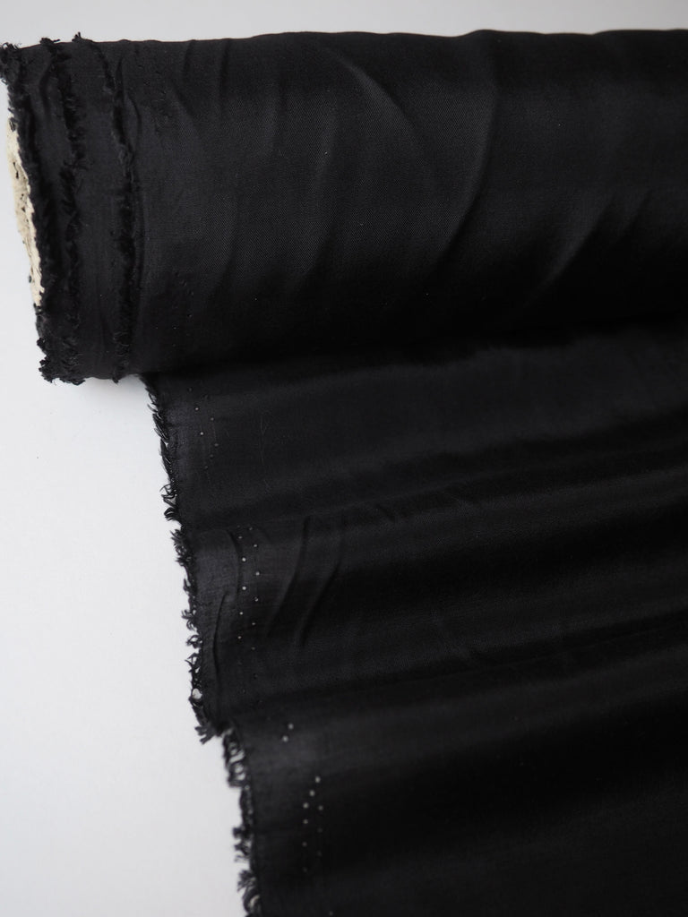 Black Voile Viscose Lining