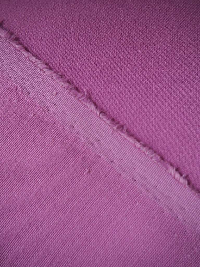 Lilac Stretch Linear Crepe