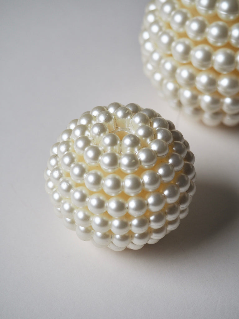 Layered Pearl Bauble 5cm