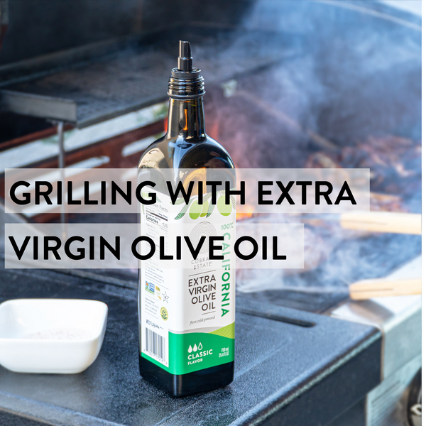 Grilling with Extra Virgin Olive Oil