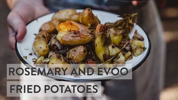 Rosemary & Olive Oil Potatoes - Roasted Potatoes
