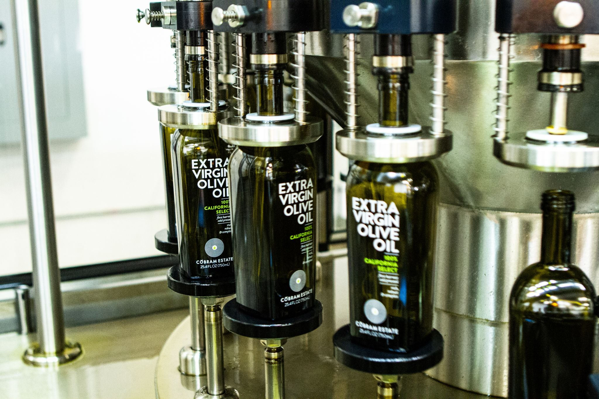 Cobram Estate Bottling Line - Filling