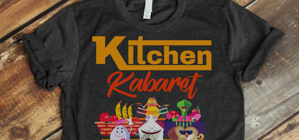 Kitchen Kabaret Retro Epcot WDW Vacation Graphic T-Shirt