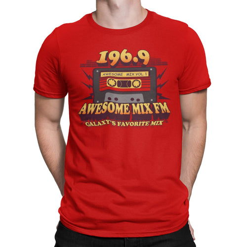 196.9 The Awesome Mix Unisex T-Shirt | Galaxy Defenders Mixtape Graphic Tee | 1969 Space Guardian Comic Movie Shirt