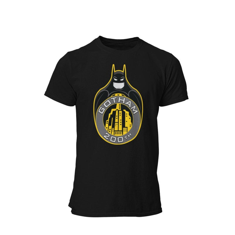 1989 Keaton Batman Gotham 200th Celebration Graphic T-Shirt