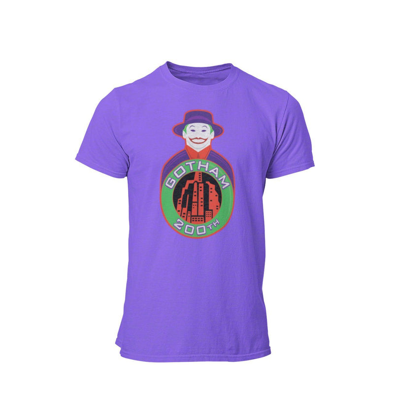 1989 Batman Jack Nicholson Joker 200th Gotham Graphic T-Shirt