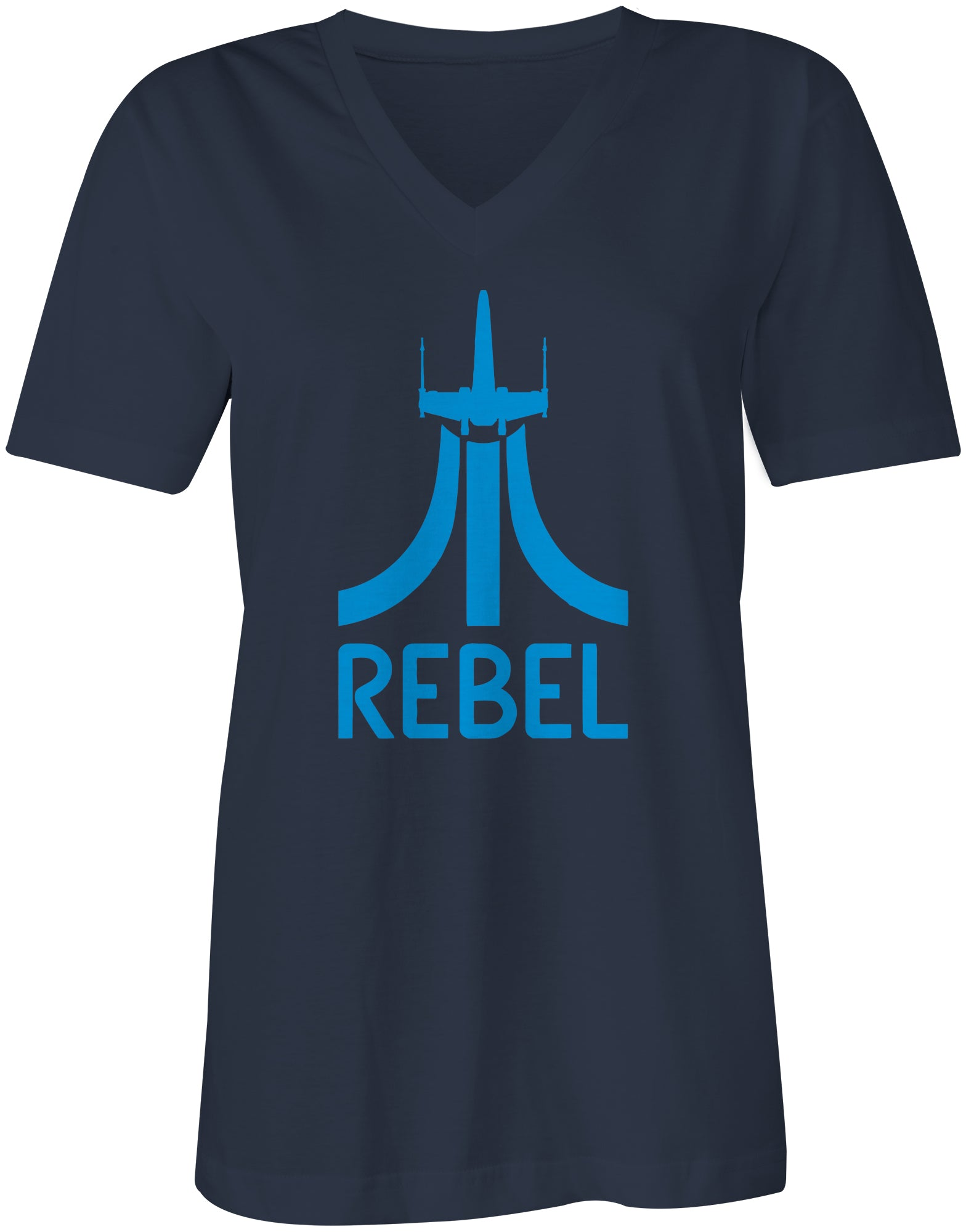 8-Bit Level Rebel Ladies Fitted Tee