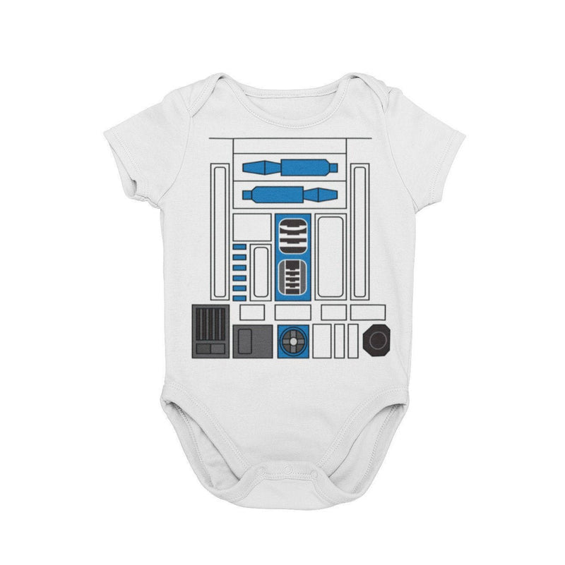 Star Wars Disney R2D2 Droid Galaxy Edge Droid Depot Baby Character Costume Cosplay Halloween Costume Onesie