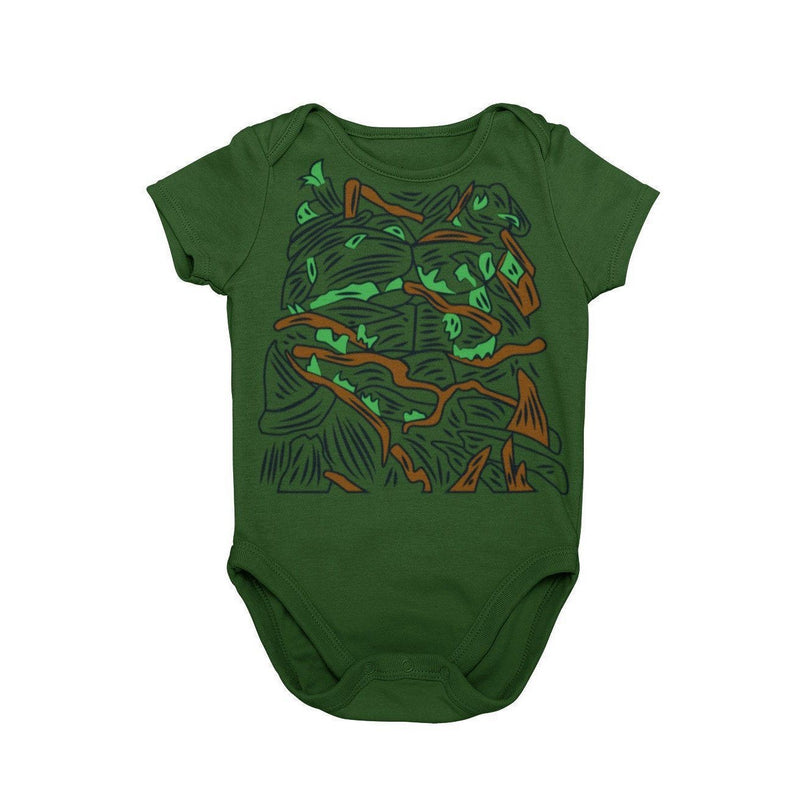 Swamp Monster Swamp Thing Classic Universal Monsters  Baby Character Costume Cosplay Halloween Costume Onesie