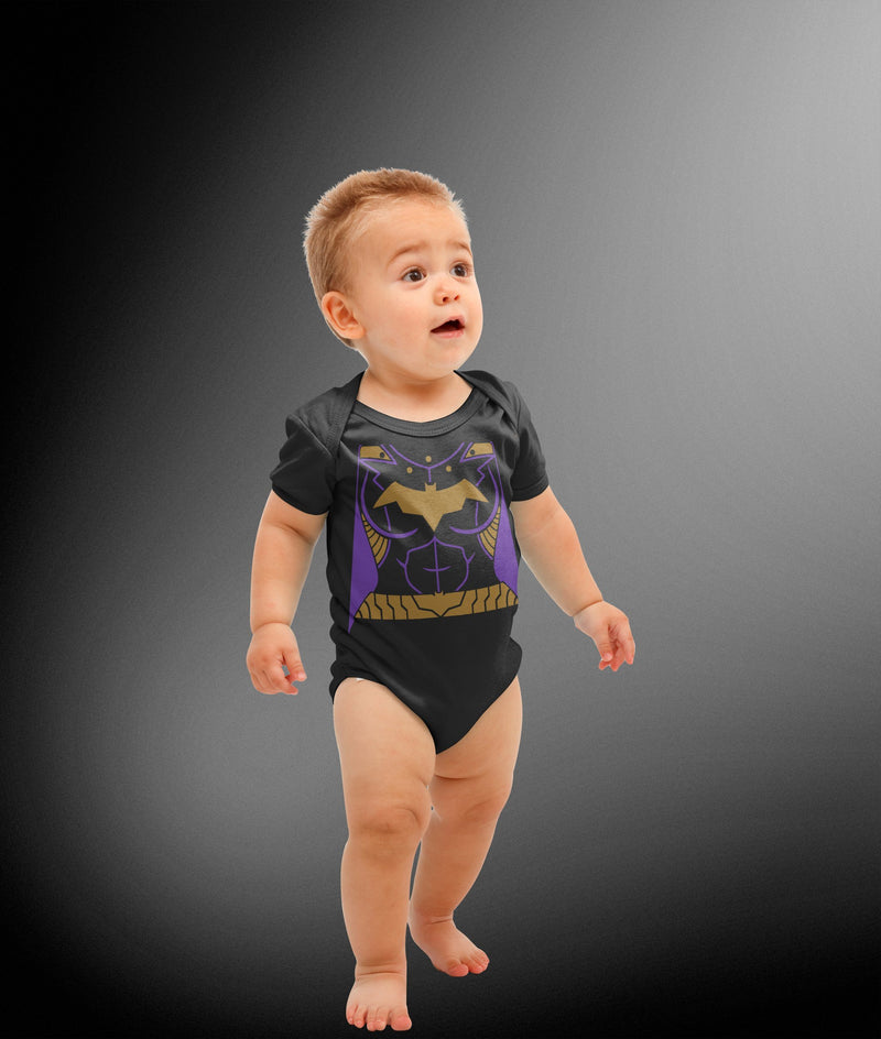 Batgirl Inspired Costume Bodysuit - Deep Dive Threads