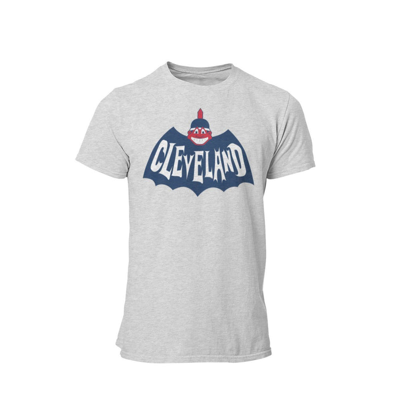 Cleveland Indians Baseball Batman Chief Wahoo Graphic T-Shirt
