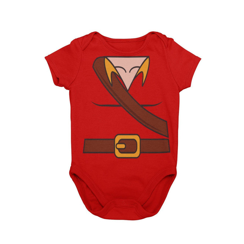 Beauty and Beast Gaston Baby Character Cosplay Halloween Costume Onesie