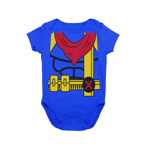 X-Men Bishop Baby Character Cosplay Halloween Costume Onesie
