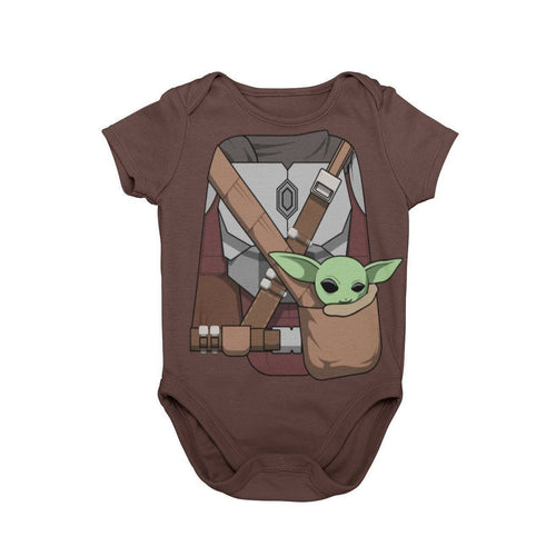 Mandalorian With The Child Baby Character Halloween Cosplay Costume Onesie