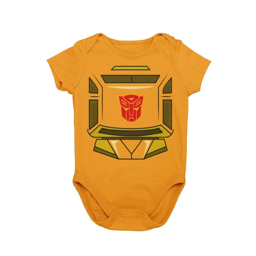 Bumblebee Transformers More than Meets the Eye 80s Saturday Morning Cartoons Baby Character Costume Cosplay Halloween Costume Onesie